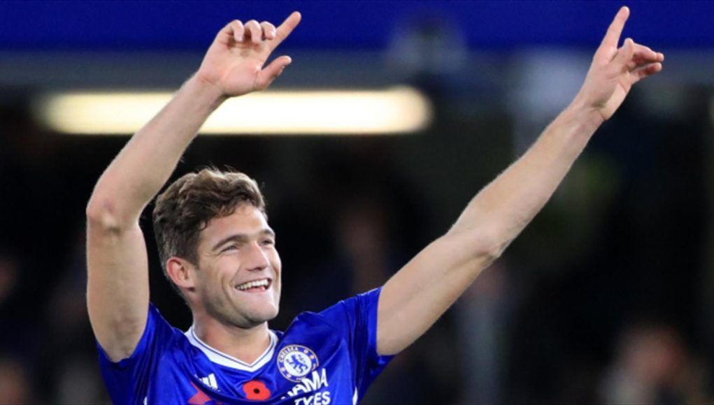 El Real Madrid Marcos Alonso Chelsea
